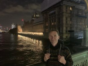 Last message from London